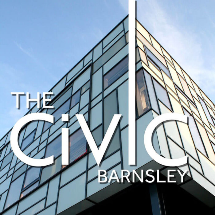 The Civic Barnsley glass exterior